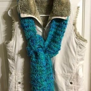 New York and Company Faux fur lined vest